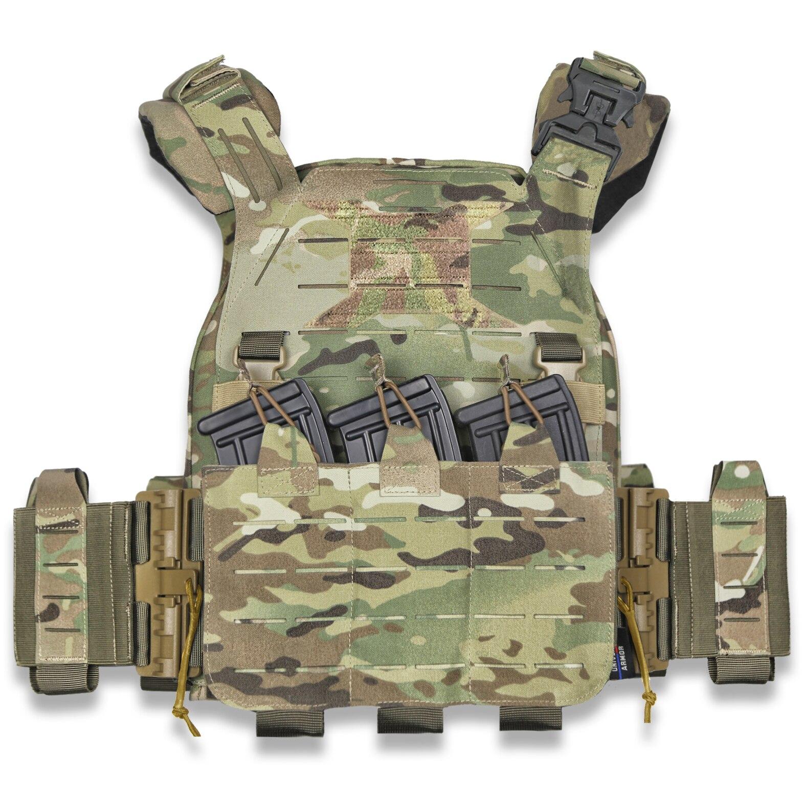 UTA X-Wildbee Universal Armoured Lightweight Tactical Plate Carrier Modular Hunting Vest